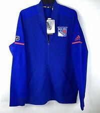 New York Rangers, Adult Men's Rink Jacket, Adidas, Full Zip, NHL Size Large NWT