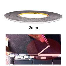 2mm x 30m Doppelseitiges Klebeband Smartphone Reparatur Display LCD Glas Sticker