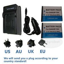 BP70A Li-ion Battery+charger for Samsung ES70 ES71 ST60 ST61 ST90 PL100