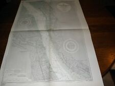 Antique Vintage US Navy Nautical Chart , PORT OF LIVERPOOL,ENGLAND