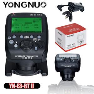 YONGNUO YN-E3-RT II TTL Radio Flash Trigger Transmitter For Canon SLR YN600EX-RT