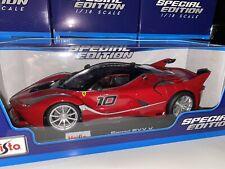 Maisto 1:18 Scale Special Edition Diecast Model Car - Ferrari FXX K