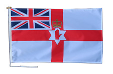 More details for northern ireland loyalist ensign flag with rope and toggle - various sizes