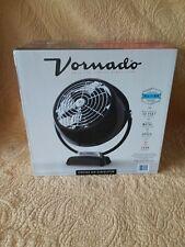 NEW VORNADO VINTAGE6 METAL BLACK AIR CIRCULATOR ADJUSTABLE FAN