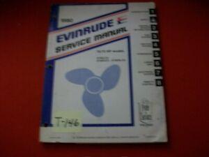 VINTAGE 1980 EVINRUDE OUTBOARD SERVICE MANUAL 70/75 HP E70ELCS E75ERCS E75ERLCS