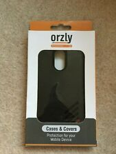 Orzly Grip-Pro Protective Case Cover for Motorola Moto G4 & Moto G4 Plus Black