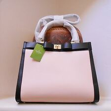NWT Kate Spade Mayfair Drive Tullie Leather Bag Antilles Bubbles Black New $399