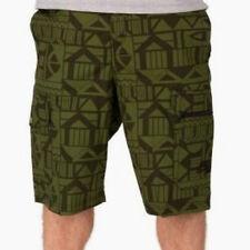 Nike sz 32 Men's  Woven 6th Man CARGO Shorts NEW $80 630657-328  Green / Black
