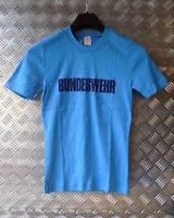 Genuine German Army BUNDESWEHR 100% Cotton Crew Neck T-Shirt - Size XS