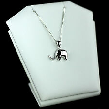 925 STERLING SILVER ELEPHANT PENDANT WITH 18 INCHES CHAIN NECKLACE