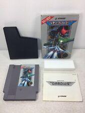 Gradius  Konami NES Game Manual Foam Box Nintendo 5 Screw Cart CIB Tested