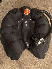 Oms Tec Wing - 94# Double Bladder, Bungie Wrap - Air 2 Inflator - Scuba Bcd