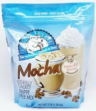 1 BAGS Caffe D'Amour Frappe Freeze MOCHA Hot Cold Coffee Drink Mix 3 LBS EACH