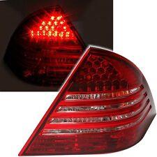 FEUX ARRIERE LED MERCEDES CLASSE C W203 4/2004-02/2007 BLANC ROUGE CRISTAL