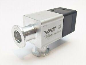 """VAT 26424-KA11 HV Angle Valve 5/8"""" ID"""
