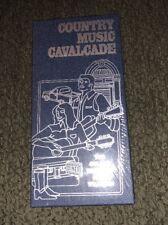 COUNTRY MUSIC CAVALCADE-Nashville The Golden Dream Of Hank Williams New!