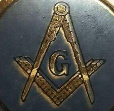 Vintage Masonic Label Poster Stamp Fraternnity Masons Freemason