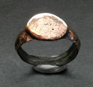A  genuine ancient Viking bronze ring