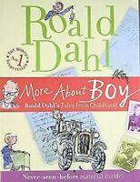 More About Boy: Roald Dahl's Tales De Childhood Libro en Rústica Roald