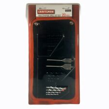 Craftsman 9-34933 Multi Purpose Drill Bit Set, 20 Piece