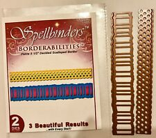 2 Spellbinders set Borders Borderabilies Dies  lot emboss Stencil Shapeabilites