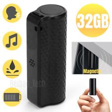 Spy Digital Voice Activated Recorder Mini Hidden Audio Recording Device 16/32GB