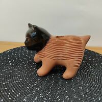 Chia Pet Kitten Planter Decorative Pottery Plant Cat Animal Novelty