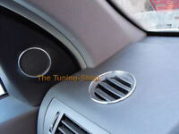 Fits Vauxhall Opel Astra MK5 H 04-10 Chrome Rings Alloy Trim Surrounds Set Of 6