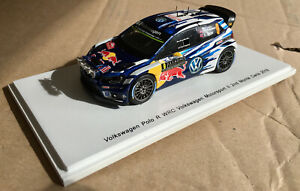 SPARK S4961 VOLKSWAGEN Polo R WRC N°9 2ème M.Carlo 1/43 #NEW