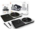 Wii DJ HERO 2 Turntable Party Bundle Game Set + Microphone kit Nintendo deadmaus
