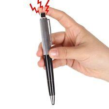 Shocking Electric Shock Novelty Metal Pen Prank Trick Joke Gag Toy Gift Funny