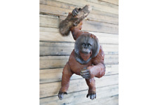BRAND NEW ORANGUTAN WALL DECORATION GARDEN ORNAMENT