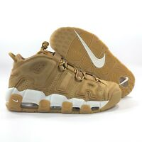 Nike Air More Uptempo '96 PRM Wheat Flax Brown White AA4060-200 Men's 10.5