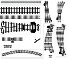Hornby / Bachmann Assorted Train Track Pieces - Select from the list below