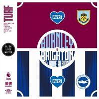 BURNLEY v BRIGHTON Premier League Programme. Free UK Post.