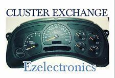 CHEVY GMC TRUCK CLUSTER SPEEDOMETER REBUILT EXCHANGE Remanufactured 15224141