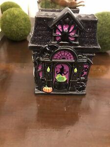 🦇Bath & Body Works Halloween Haunted House Pumpkin Foaming Hand Soap Holder