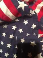 """NEW!! Star Spangled Stripes//All American Fabric Details about  /Longaberger /""""X-LARGE GARTER/"""""""