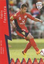 FABIO FERREIRA ADELAIDE UNITED A-LEAGUE 2014/2015 TAPNPLAY SOCCER CARD