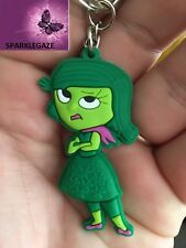 "BRAND NEW 2018 PVC INSIDE OUT ""DISGUST"" KEYRING 60"