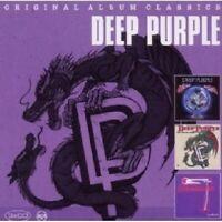 "DEEP PURPLE ""ORIGINAL ALBUM CLASSICS"" 3 CD NEW"