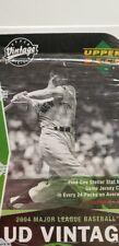 MICKEY MANTLE UPPER DECK VINTAGE BOX  2004 UD VINTAGE