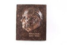 schönes altes Wandrelief Wlhelm Pieck Relief Image Wand Relief Bild