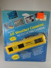 New Kalimar 110 All Weather Camera Focus Free with Wrist Strap New yellow