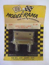 Early 1960s K&B Aurora Model Rama Brass Motor Mount #1101 for Pittman 704
