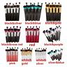 Lot Makeup 10pcs Cosmetic Brush Face Powder Eyeshadow Blush Brushes Set Tool