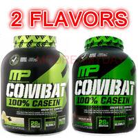 MusclePharm Combat 100% Casein Protein Powder Chocolate Milk Vanilla 4 lbs New