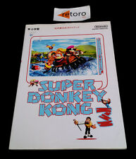 GUIA GUIDE SUPER DONKEY KONG 3 Super Famicom JAP Nintendo Official Guide book