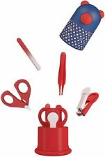 Baby Nail Kit, Baby Nail Care Set 4-in-1, Baby Nail Clipper, Glass File, Safety