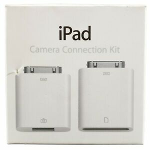 Genuine Apple iPad Camera Connection Kit Model A1362 & A1358